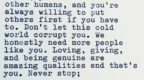 Don't Let