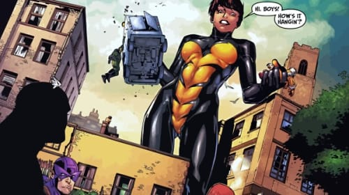 The Wasp Who Never Laughs