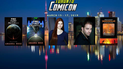Toronto Comicon 2019 March 15 to 17