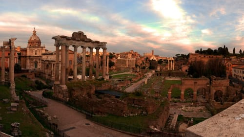 Walking In the Footsteps ofthe Ancient Romans