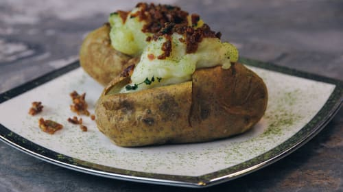 Best Pot Baked Potatoes Recipe