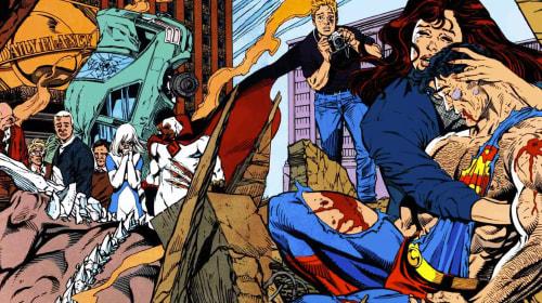 Emotional DC Comics Moments