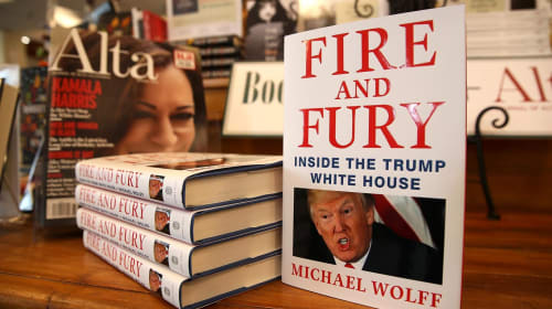 Is Trump Whitehouse Fire and Fury Book Misdirection?