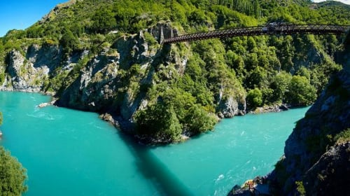 Jumping Off Kiwi Bridges