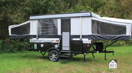 Tiny Living, Big Lessons: Living in a Cheap Pop Up Camper