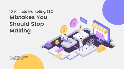 Affiliate Marketing SEO Mistakes