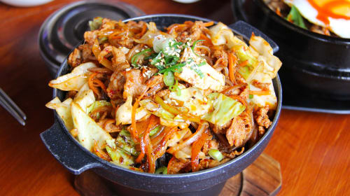 Korean Food in Summer