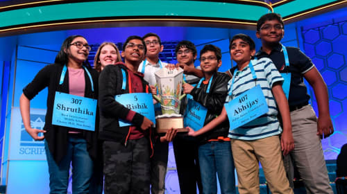 Scripps National Spelling Bee Has Eight Champions