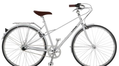 The Girl on the White Bike