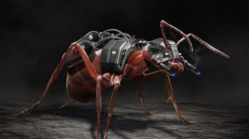 'Ant-Man' Concept Art Teases The Ultimate Ant Army!