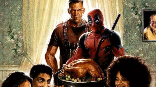 Fox's First 'Deadpool 2' Poster Is A Reason To Give Thanks