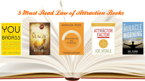 5 Must-Read Law of Attraction Books!
