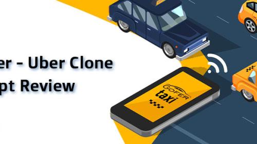 Gofer - Uber Clone Script Review