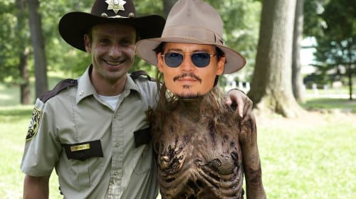 Did Anyone Spot Johnny Depp On This Week's 'The Walking Dead'?