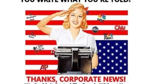 My Speech on the Mainstream Media