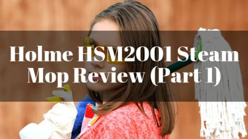 Holme HSM2001 Steam Mop Review (Part 1)