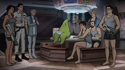 Guess Which Streaming Site has Season 10 of 'Archer' - Archer in Space!