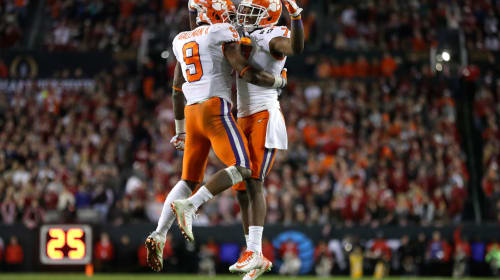 The Expected in Clemson vs. Alabama