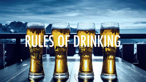 29 Rules of Drinking
