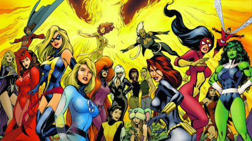 Marvel Girl Power: Top 10 Hottest Female Comics Book Characters