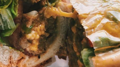The Bronx Vegan Eats: Vegan Chopped Cheese