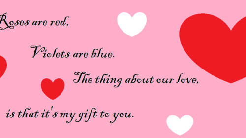 What Are You Giving Your Sweetheart for Valentine's Day?
