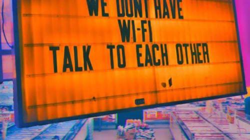 No Wi-Fi?!