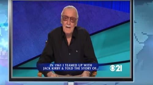 Stan Lee Showed up on 'Jeopardy' to Give Clues About Himself