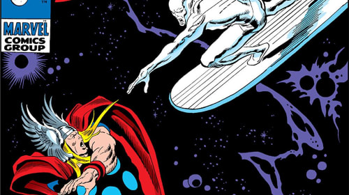 Silver Surfer vs Thor