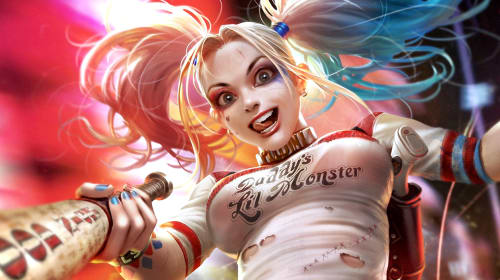 Mad Love: Celebrating 25 Loony Years of Harley Quinn with 5 Pieces of Fantabulous Fan Art