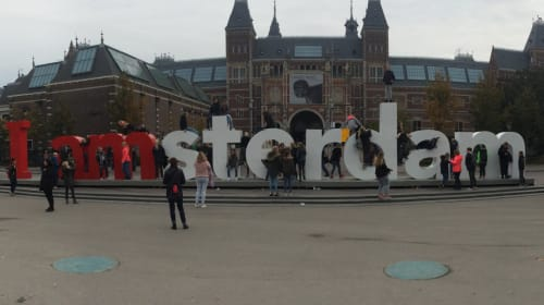 Solo Traveling Through Amsterdam