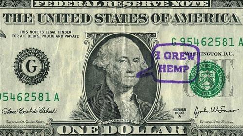 George Washington Smoked Weed
