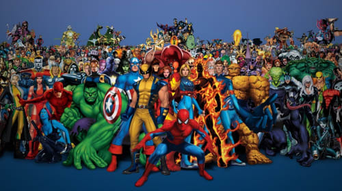 Top Ten Marvel Heroes