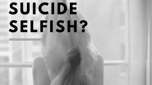Is Suicide Selfish?