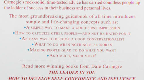 Book Summary: How To Win Friends & Influence People
