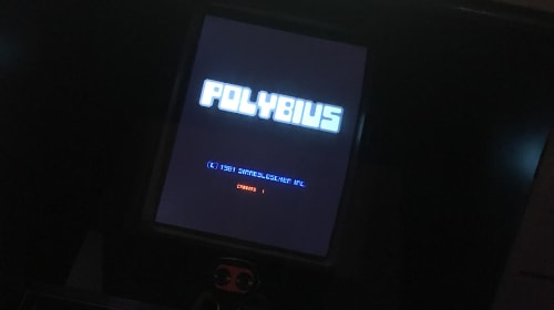 Polybius: The Birth of a Video Game Legend