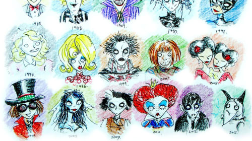 25 Facts about Tim Burton and Some of His Movies!