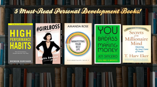 5 Must Read Personal Development Books!