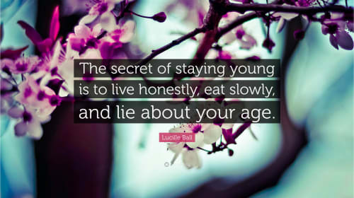 The Secrets to Staying Young and Beautiful