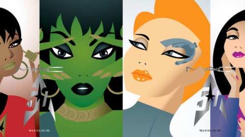 MAC Announces A 'Star Trek' -Inspired Makeup Collection That Boldly Goes...