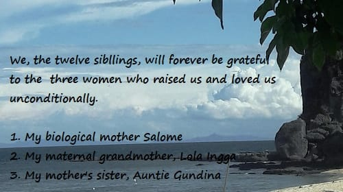A Tribute to the Three Women Who Shaped the Lives of Twelve Siblings