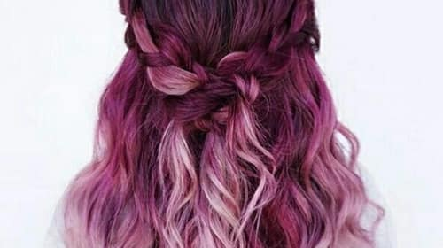 How To Treat Dip-Dyed Hair