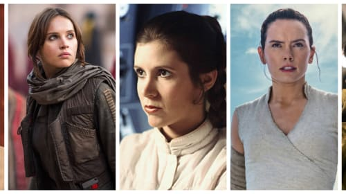 The Women of 'Star Wars'