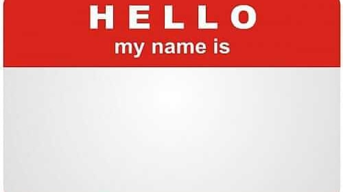 Will You Change Your Name?