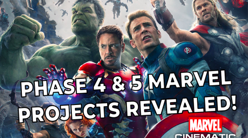 All Marvel Studios' Upcoming Phase 4 and 5 Projects Revealed!