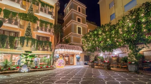 A Review of Hotel Michelangelo in Sorrento, Italy