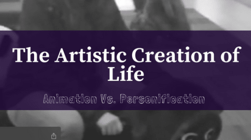 The Artistic Creation of Life