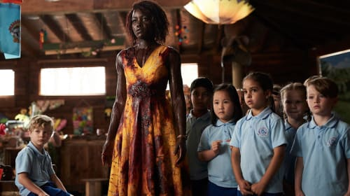Lupita Nyong'o Has to Survive Zombies, Children, and Children Who Are Zombies in 'Little Monsters'