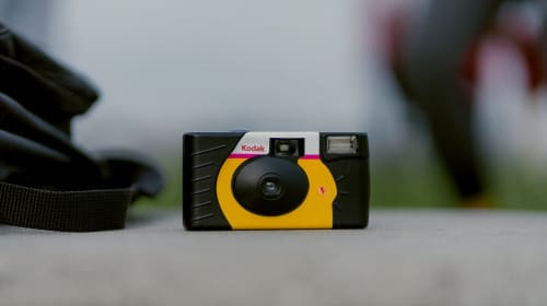 10 Artistic Ways to Use a Disposable Camera