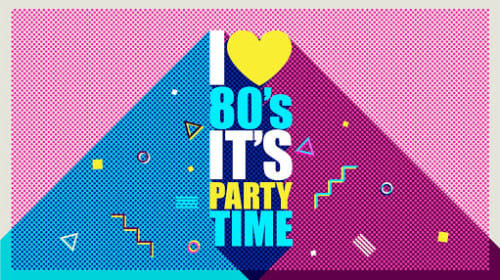 80s Style Party